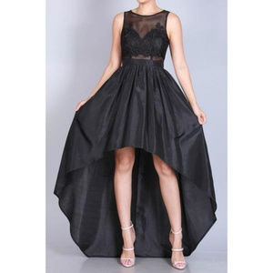 Dresses & Skirts - Black Hi-Lo Dress
